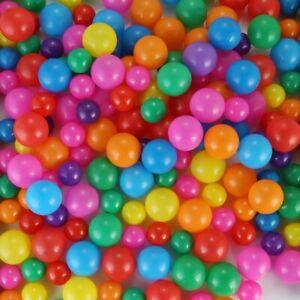 100pcs Baby kids Colorful Ball Soft Plastic Ocean Ball Funny Swim Pit Pool Toys