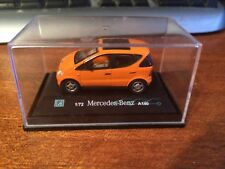 Hongwell Cararama 1/72 Scale Mercedes-Benz A140 - Orange - Boxed