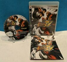 Street Fighter IV - Collector's Edition (Sony PlayStation 3, 2009) Tested