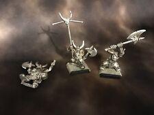 Marauder Black Orc Command - Metal - OOP - Warhammer Fantasy Age Of Sigmar