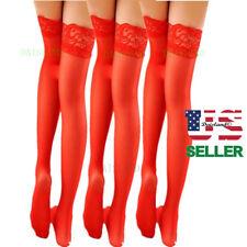 3  Hosiery Women Stockings Plus Size Socks Tights Nylon Hold Up Sheer Pantyhose