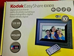"KODAK EasyShare EX1011 10"" Digital Picture Frame, NEVER OPENED"