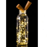 20LED Cork Shaped Night Light Starry Light Wine Bottle Lamp For Xmas Decor WAINI