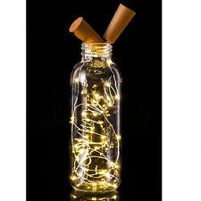 20LED Chic Cork Night Light Starry Light Wine Bottle Lamp For Xmas Party Decor