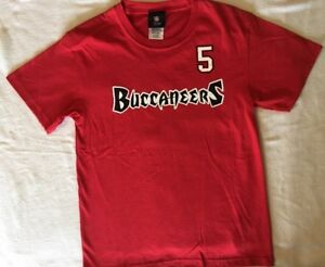NFL Tampa Bay Buccaneers Josh Freeman #5 Youth T-Shirt - Size: Medium 10/12