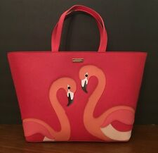 NWT Kate Spade Pink Flamingo Jules Tote Handbag,Take a Walk On Wild Side $398
