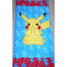 100% Cotton Kids Children Pokemon Bath Beach Pool Towel 70x140cm