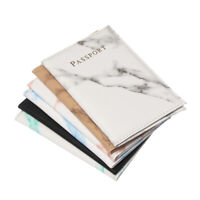Marble Pattern Passport Cover  Passport Holder  Bag Protector Travel Cover Case