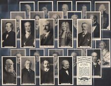 More details for carreras-full set- british prime ministers (f27 cards) - exc