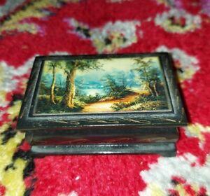 Laquer Black Box Vintage