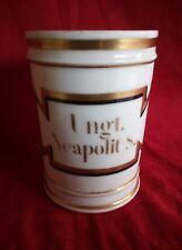 Pot à pharmacie en porcelaine de Paris XIX siècle