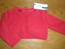 BNWT baby girl angora mix red cardigan. M&S. 3-6 months.   (2/3)