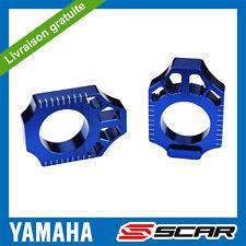 TENDEURS DE CHAINE YAMAHA YZ 125 250 YZF 250 YZF 450 WRF 250 450 WR BLEU SCAR