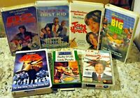 SEVEN (7) LOT OF WALT DISNEY MOVIES VHS TAPES