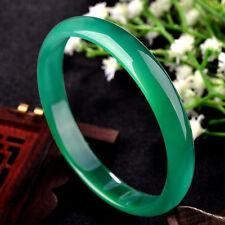 NATURE BEAUTIFUL  Green AGATE BRACELET BANGLE 69mm