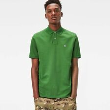 G Star Raw Dunda Polo Shirt Mens XXL Tulla Green Slim Fit Short Sleeves NWT $75