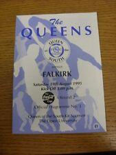 19/08/1995 LA REGINA DEL SUD V Falkirk [Scottish League Cup]. grazie per viewi