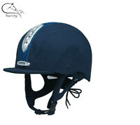 Champion Junior X-Air Dazzle Plus Horse Riding Hat PAS:015: 2011 FREE DELIVERY
