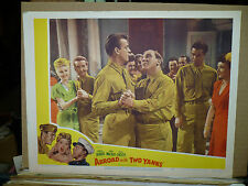 ABROAD WITH TWO YANKS, re1950 LC #7 (William Bendix dances with Dennis O'Keefe)