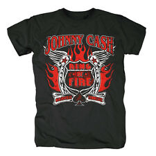 JOHNNY CASH - Ring Of Fire - T-Shirt - Größe Size M - Neu
