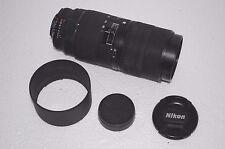 Nikon 70-180mm Zoom Micro Macro f/4.5 ~ f/5.6 AF-D ED, billigsten! - Schnäppchen
