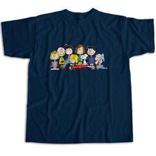 f8de4c043 Peanuts Charlie Brown Snoopy Friends Group Mens Womens Kids Unisex Tee T- Shirt