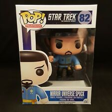 FUNKO POP STAR TREK MIRROR UNIVERSE SPOCK EXCLUSIVE VINYL FIGURE