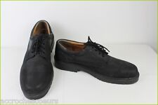 Zapatos de cordones Marca DERBY Cuero Natural Negro T 47 MUY BUEN ESTADO