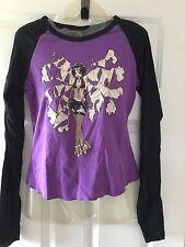 Ladies Hot Topic Doe Long sleeve Baseball Jersey Broken Fairy Steampunk - sizeLg