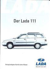 Auto Brochure - Lada - 111 - c2001 - GERMAN prospekt (A1224)