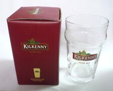 "KILKENNY BEER Beer Miniature 0.25cl GLASS MALAYSIA Clear 4.25"" Tall Irish Beer"