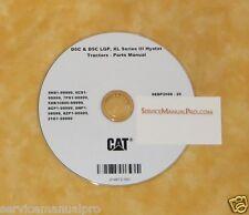 SEBP2688 New Cat Caterpillar D5C Tractor Dozer Parts Manual Repair Service Book