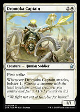MTG 4x DROMOKA CAPTAIN - CAPITANO DROMOKA - DTK - MAGIC