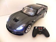 NEW BRIGHT R/C 1:8 CHEVY CORVETTE INCLUDES 9.6V LITHIUM ION BATTERY AND CHARGER