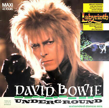 "David Bowie ‎12"" Underground (Extended Dance Mix) - France (VG/EX)"