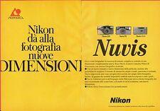 Pubblicità Advertising Werbung 1996 Nuvis NIKON