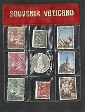 Kleine Sammling VATIKAN **, postfrisch ** + Gedenkmünze Silber PP 1967 /G 5