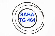 SET CINGHIE SABA TG 464 REGISTRATORE A BOBINE BOBINA EXTRA FORTI FRESCHE TG464
