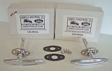 1929 1930 1931 Model A Ford Roadster Outside Door Handle Set with pads & Screws