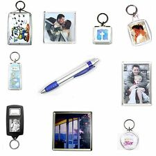 1 BLANK KEYRING FRIDGE MAGNET COASTER VALUE PACK SAM12