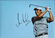 Simon KHAN SIGNED Autograph 12x8 Photo AFTAL COA SEVE Trophy Team GB
