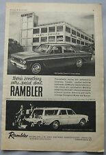 1963 Rambler Classic 6 Original advert
