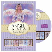 Angel Whispers interactiive PDF papercrafting CD-ROM (used but allmost new)