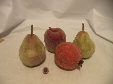 Glitzed Sytrofoam Artificial Fruit Centerpiece Decor-4 piece