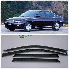 For Rover 75 Sd 1999-2005 Side Window Visors Sun Rain Guard Vent Deflectors