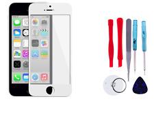 iPhone 5C / SE VETRO FRONTALE DISPLAY TOUCH + STRUMENTO BIANCO