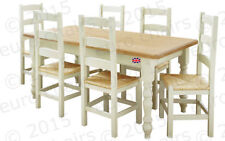 Living Room Country Up to 6 Seats Table & Chair Sets