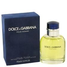 Dolce & Gabbana Pour Homme 75ml Eau De Toilette Spray New & Sealed Box Free P&P