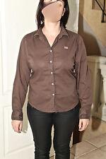 bonito blusa marrón elástica mujer NAPAPIJRI talla L (38-40) EXCELENTE ESTADO