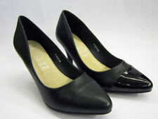 Spot On Synthetic Leather Slim Heels for Women